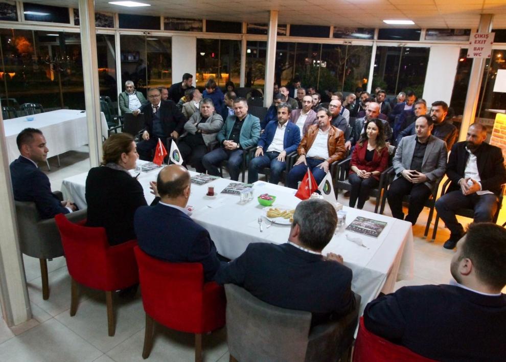 Sibel Gönül ve Işık GKD'nin konuğu oldu, Cumhur İttifakı, AK Parti İzmit Belediye Başkan Adayı Mimar Sibel Gönül, Genç Kocaelililer Dernek Başkanı Umut Ongül, Sibel Gönül Haberleri,