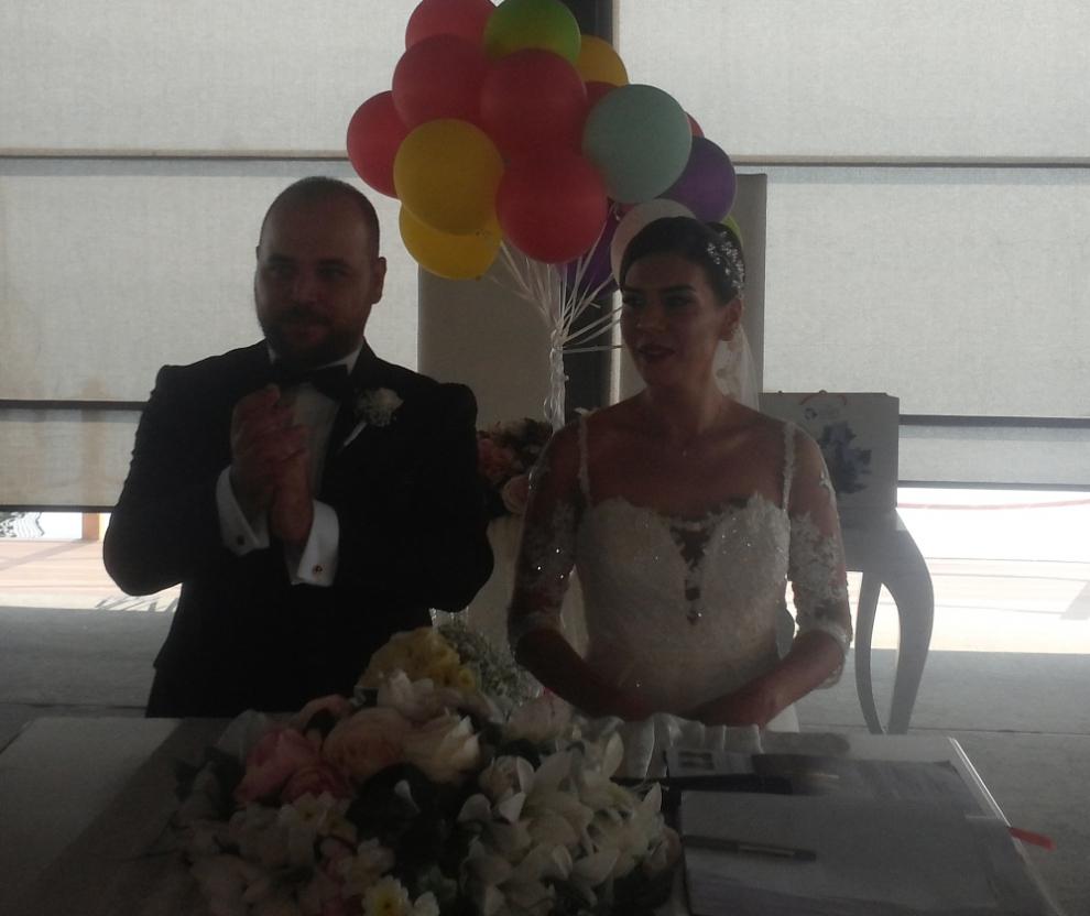 Merve ile Fırat Evlendi