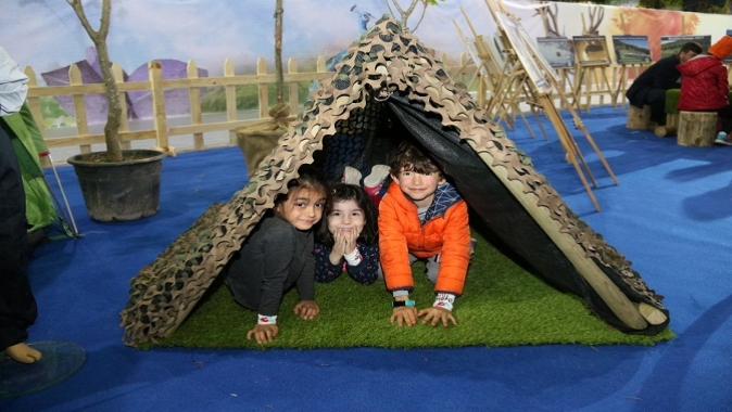 23 Nisan çocuk festivali coşkuyla devam ediyor.Çocuklar, maceraya var mısınız?