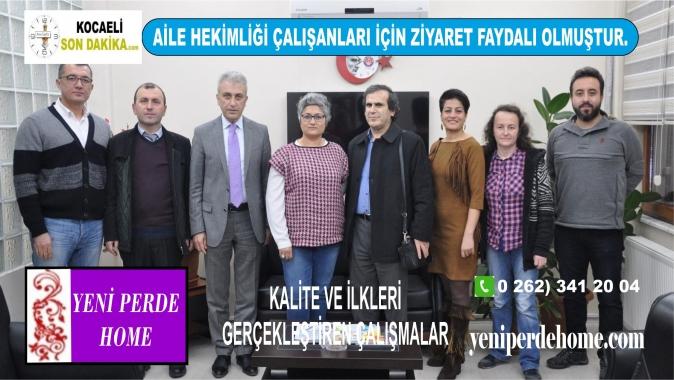 Türk Sağlık Sen, Ömer Çeker, Aile Hekimliği Çalışanları İçin Ziyaret Faydalı Olmuştur