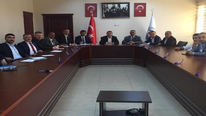 Başkan Şayir, Muhtarlarla İlk Toplantısını Yaptı