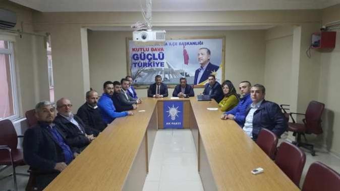 Başkan Turan, AK Parti Yönetim Kurulu Toplantısına Katıldı