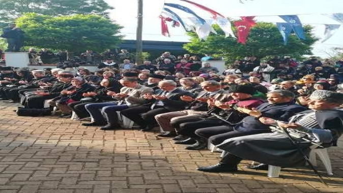 Başkan Turan Çerkes sürgününü anma töreninde