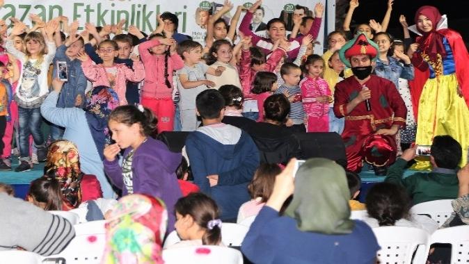 Çocukların Gönlünde Ramazan Başiskele'de