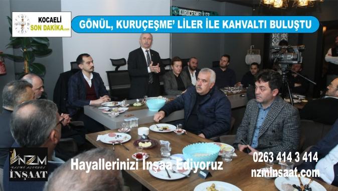 Sibel Gönül, Kuruçeşme' liler ile kahvaltıda buluştu, AK Parti İzmit Belediye Başkan Adayı Mimar Sibel Gönül, Ak Parti haberleri, Kocaeli haber, Kocaeli siyaset haberleri