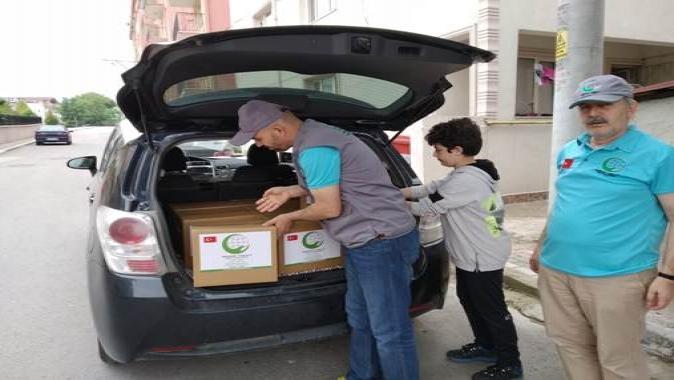 İhtiyaç sahibi ailelere Ramazan yardımı