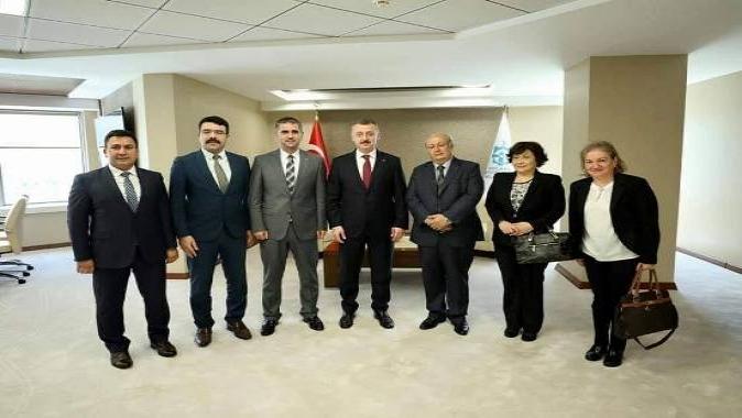 Kandıra OSB'den Başkan Büyükakın'a ziyaret