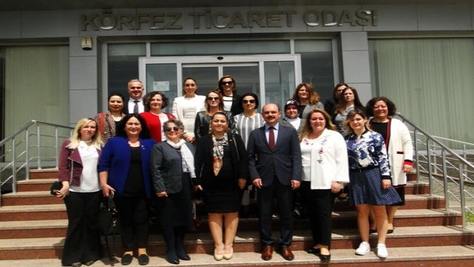 Kocaeli Kadın Girişimciler Kurulundan KTO'ya Ziyaret