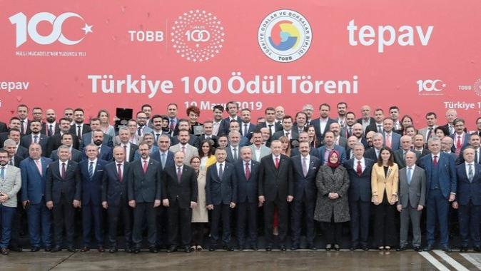 Kocaelili firmalar, Türkiye 100'den ödülle döndü