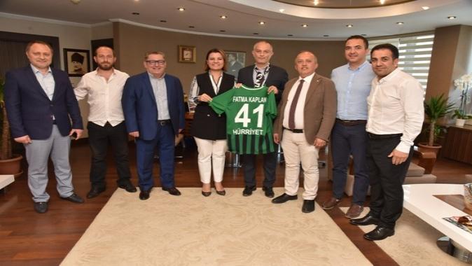 Kocaelispor yönetiminden Hürriyet'e ziyaret