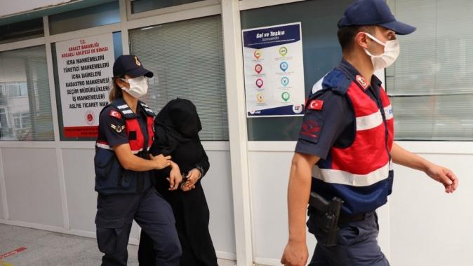 PKK'lı teröris İzmit'te yakalandı adliyeye çıkarıldı