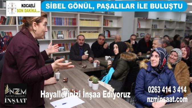 Sibel Gönül, Paşalılar İle Buluştu, Cumhur İttifakı, AK Parti İzmit Belediye Başkan Adayı Mimar Sibel Gönül, Mehmet Ali Paşa halkı,