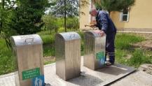 Başiskele'de Çöp Konteynerlerine Bakım ve Onarım