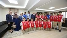 Başkan Aygün Eğitim Camiasının Yanında