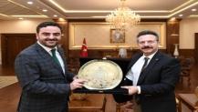 Başkan Özlü'den Vali Aksoy'a Ziyaret