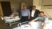 Başkan Şayir'den Hasta Ziyareti