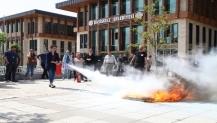 Belediye Personeline Yangın Eğitimi