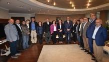 CHP ilçe başkanlarından Hürriyet'e hayırlı olsun ziyareti