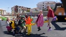 Çocuk Trafik Eğitim Parkı'nda Eğitimler Sürüyor
