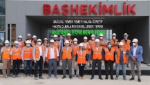 Ellibeş ve Zeybek'ten Şehir Hastanesi'ne yakın takip