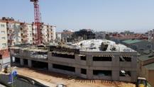 Gebze otopark inşaatı devam ediyor