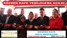 Közden Kafe Yeşilova'da Açıldı