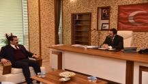 Milletvekili Yaman'dan Başkan Özlü'ye Ziyaret