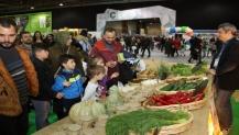 Minik ellerin organik ürünleri çocuk festivalinde