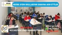 Nesibe Aydın Okulları'nın Sınavına Akın Ettiler