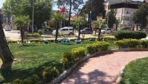 Park ve Bahçeler çalışıyor Kandıra güzelleşiyor