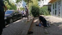 Sokak ortasında baba ve kızı hayatını kaybetti,
