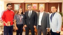 Türkiye üçüncüsünden Başkan Turan'a ziyaret