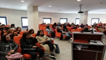 Üniversite öğrencilerine çalışmalar anlatıldı