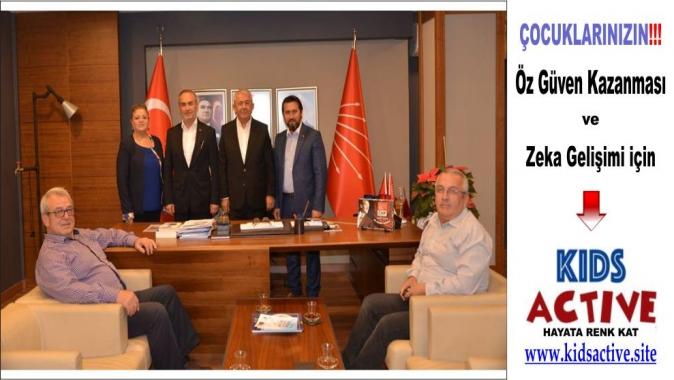 Türk Diyanet Vakıf Sen'den CHP'ye ziyaret, Türk Diyanet Vakıf Sen haberleri, Kocaeli haber, Kocaeli son dakika,
