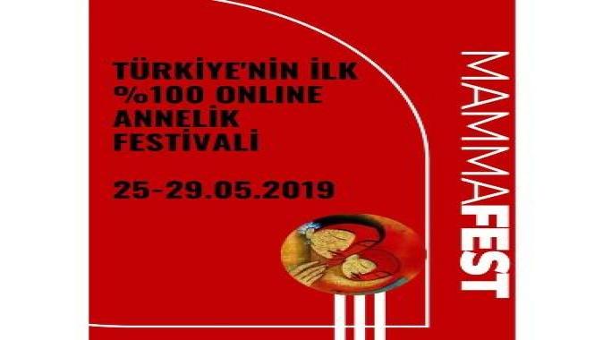 Türkiye'nin ilk online annelik festivali başlıyor