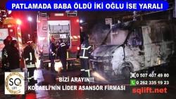 Patlamada Baba Öldü İki Oğlu İse Yaralı